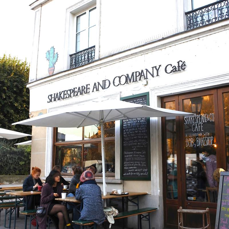 Shakespeare and Company Café シェイクスピア・アンド・カンパニー・カフェ