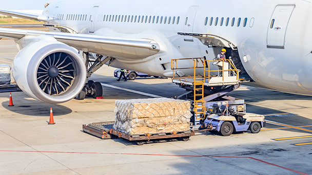 "CARGO KIX: 24-hour operation ""International Cargo Hub"