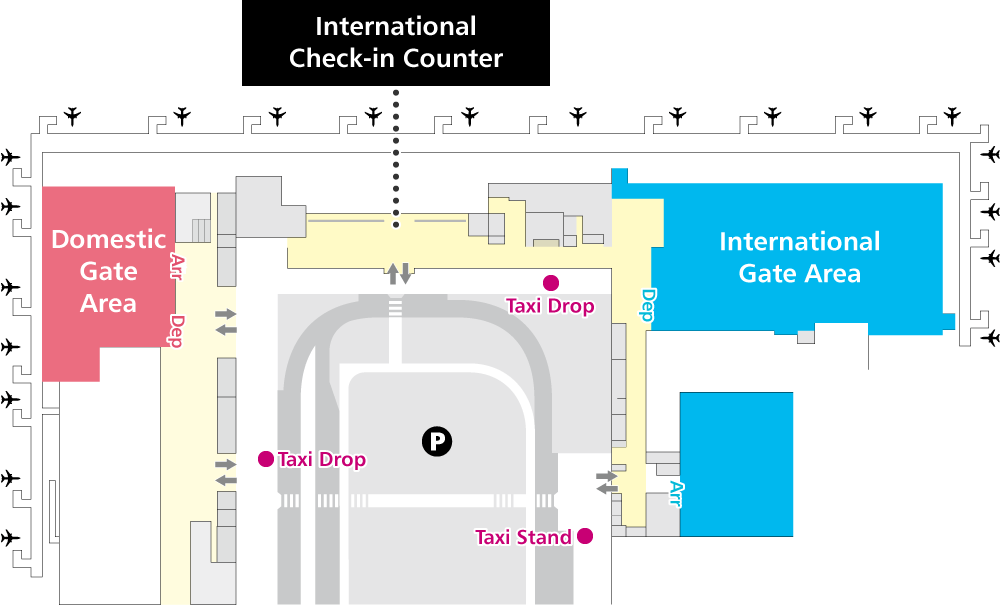 Taxi | Kansai International Airport