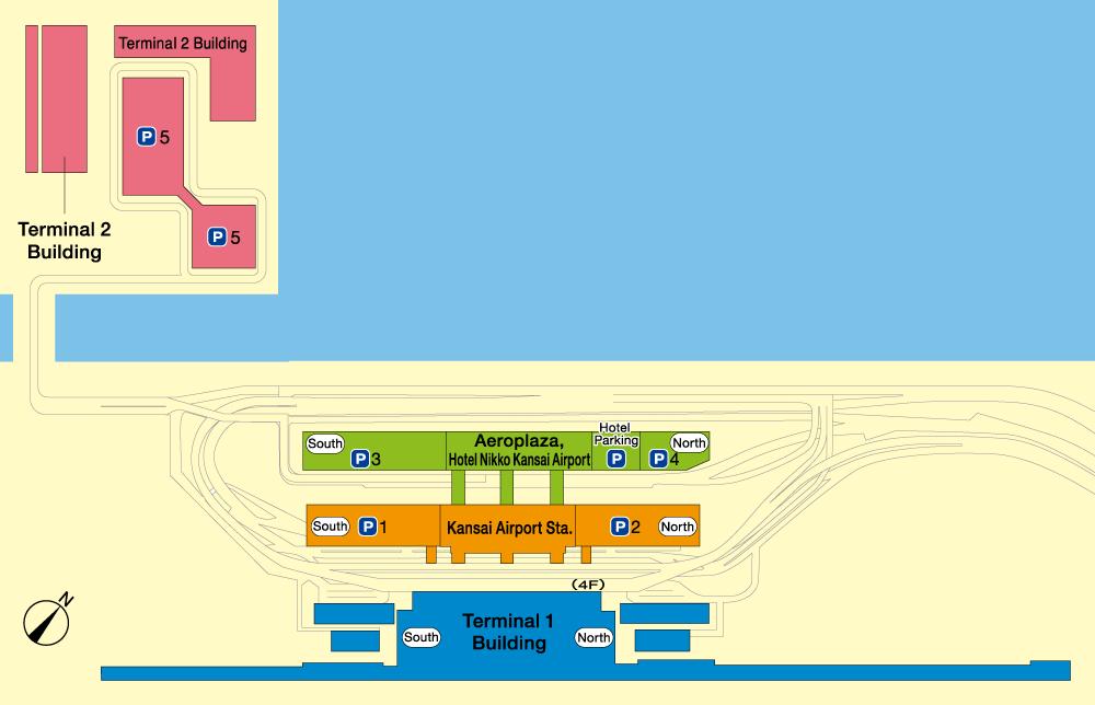 Osaka Itami Airport Map Airport Map | Kansai International Airport