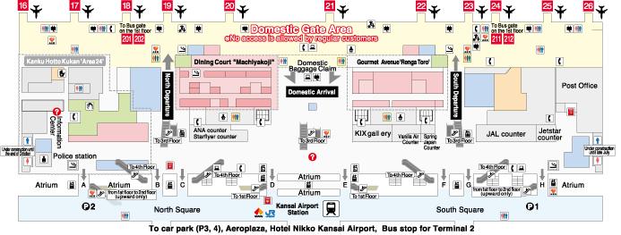 Terminal 1 Building Kansai International Airport
